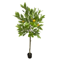 56'' Artificial Lemon Tree Topiary