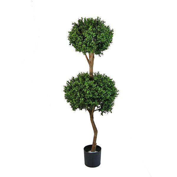 Arbuste topiaire de buis artificiel 4 5 39 d cors v ronneau for Arbuste buis artificiel
