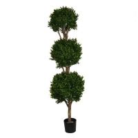 Arbuste, topiaire de buis artificiel 5,5'