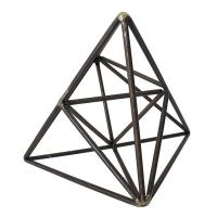Metal triangles, 10 x 8 x 8''