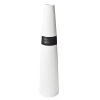 White ceramic urn 7x7x31''