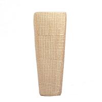 Ivory squared urn 15.7''