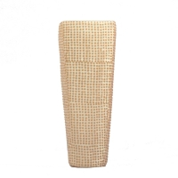 Squared ivory urn 9.8''
