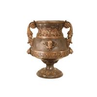 Bronze urn 22 x 18 x 25''