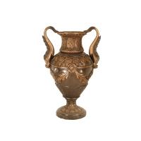 Bronze urn 22 x 19 x 32''