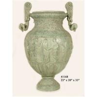 Bronze urn 23 x 20 x 33''