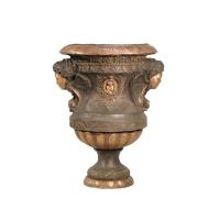 Bronze urn 23 x 21 x 32''