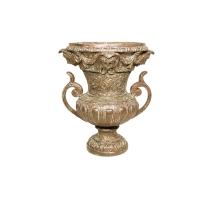 Bronze urn 24 x 24 x 28''