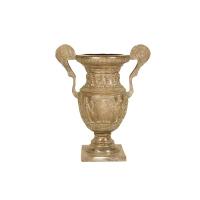 Bronze urn 9 x 15 x 19''