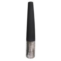 Silver and black ceramic urn 8,5 x 8,5 x 47''