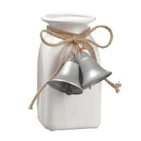 Vase avec clochettes, 8''