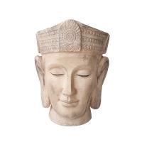 Pot bouddha beige