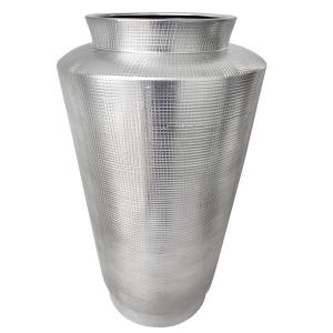 vase en c ramique argent large goulot 27 5 39 39 d cors v ronneau. Black Bedroom Furniture Sets. Home Design Ideas