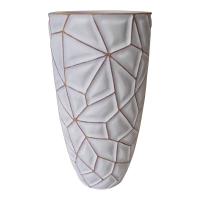 Vase haut blanc
