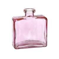 Vase en verre rose 4,25''