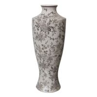 Vase grisbrun 6x6x165''