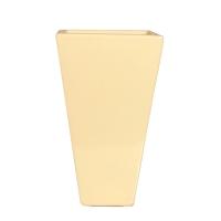 Vase de couleur ivoire 5x8