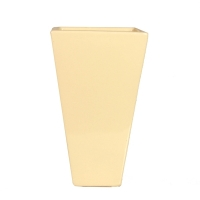 Ivory colored vase 8