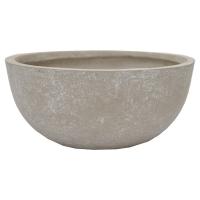 Round Cement Pot, 7 x 14''