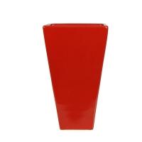Vase de couleur rouge 5x8