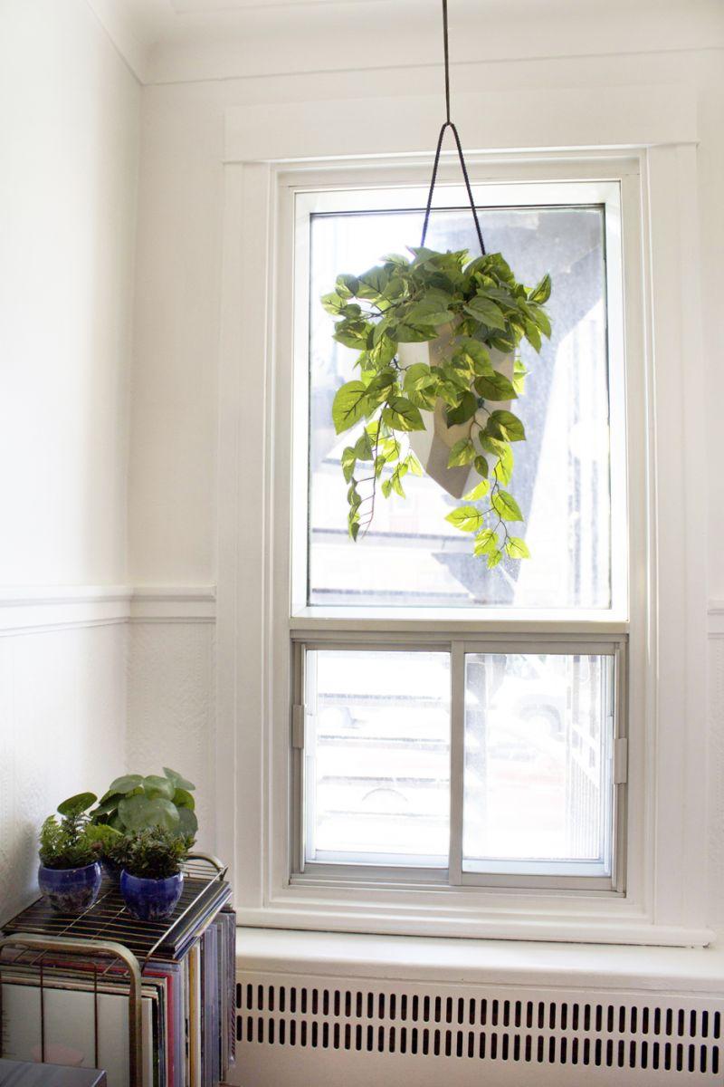 plante artificielle suspendue pothos d cors v ronneau. Black Bedroom Furniture Sets. Home Design Ideas
