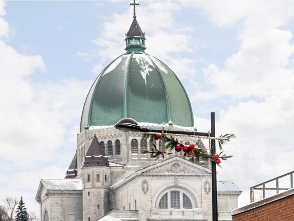 ville de montral 2016 - Couronne Noel Lumineuse Exterieur