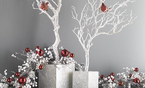 Accessoires de no l plantes et d cors v ronneau for Decorations exterieures de noel